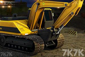 《3D挖掘機駕駛》截圖1