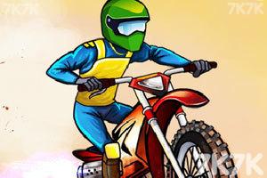 《摩托驾驶挑战无敌版》游戏画面1