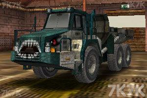 《工业卡车停车》游戏画面2