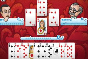 《精品纸牌挑战赛》游戏画面1