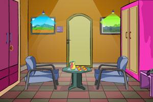 《家庭小客厅逃脱》游戏画面1