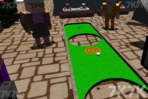 《我的世界高尔夫》游戏画面1