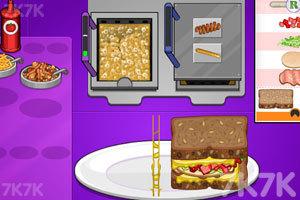 《老爹三明治店》游戲畫面3
