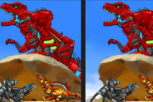 《组装恐龙找不同》游戏画面1