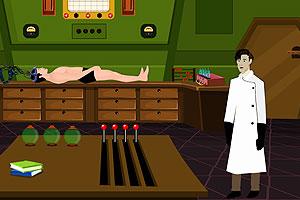 《逃出科学家的实验室》游戏画面1