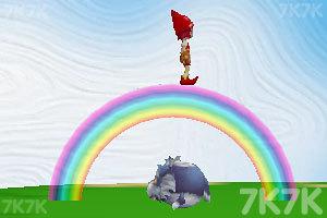 《抓住彩虹的女孩》游戏画面2
