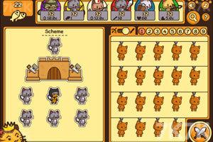 《猫咪背水一战》游戏画面4
