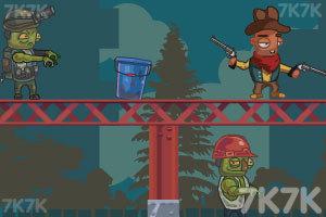 《双枪牛仔射杀僵尸2》游戏画面4