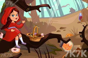 《勇敢的小红帽》游戏画面1