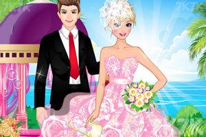 《时尚的芭比新娘》游戏画面3