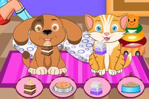 《照顾可爱的宠物》游戏画面1