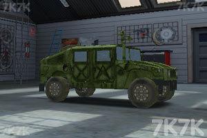《停靠越野军车》游戏画面5