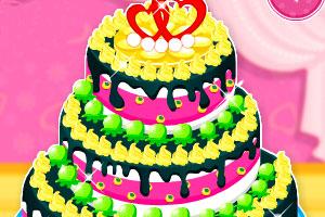 漂亮婚礼大蛋糕