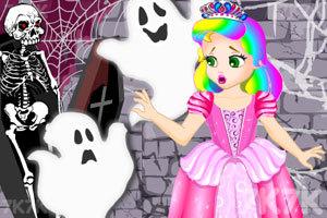 《朱丽叶公主逃出幽灵城堡》游戏画面1