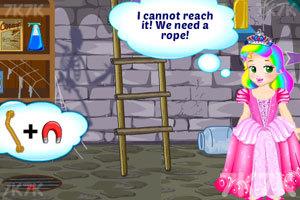 《朱丽叶公主逃出幽灵城堡》游戏画面2