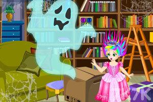 《朱丽叶公主逃出幽灵城堡》游戏画面3