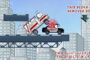 《奇趣撞车2加强版》游戏画面1