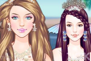《人鱼公主新发型》游戏画面1