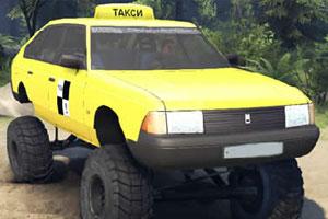 《俄式怪物出租车拼图》游戏画面1