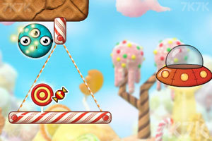 《外星人玩转糖果世界》游戏画面2