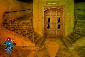 《废弃的城堡逃脱》游戏画面1
