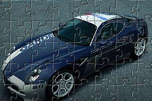《阿尔法警车拼图》游戏画面1