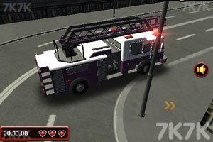 《3D消防车》截图1