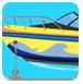 摩托艇逃离小岛