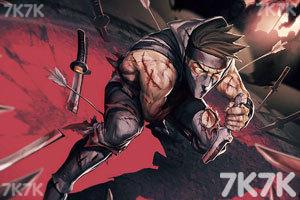《忍者的宿命中文无敌版》游戏画面1
