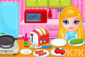 《芭比宝贝的早餐》截图2