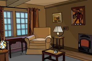 《小镇酒店逃脱》游戏画面1