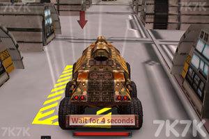 《火星探测车停靠》游戏画面3
