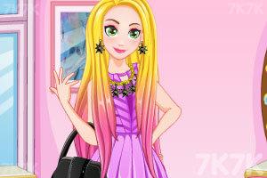 《长发公主的新造型》游戏画面2