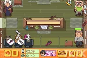 《狗狗猫咪美容院》游戏画面2