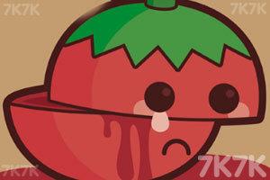 《翻滚的西红柿》游戏画面1