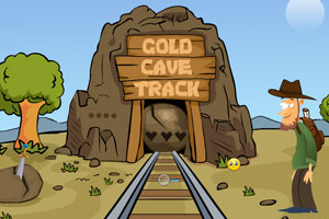 《黄金矿洞探秘》游戏画面1