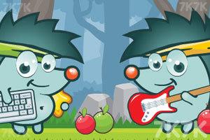 《刺猬果果的苹果乐园2》游戏画面1