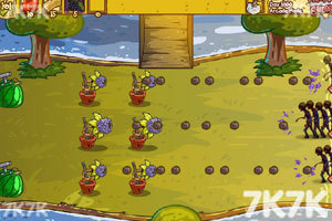 《水果保卫战僵尸版2无敌版》游戏画面5