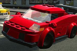 《乐高汽车拼图》游戏画面1