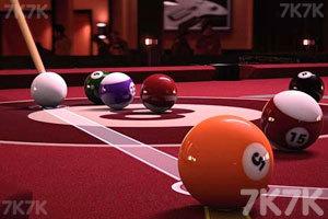 《3D台球挑战赛》截图2