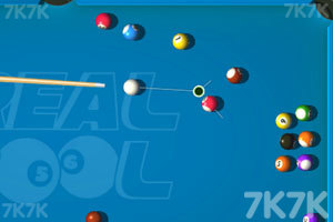 《3D台球挑战赛》截图1