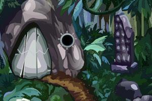 《逃离原始人洞穴》游戏画面1