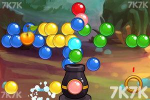 《泡泡历险记选关版》游戏画面1