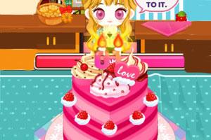 阿sue做生日蛋糕