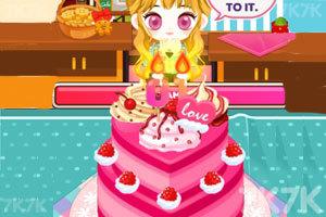 《阿sue做生日蛋糕》游戏画面1