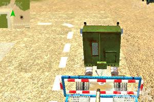 《军队坦克运输车》游戏画面2
