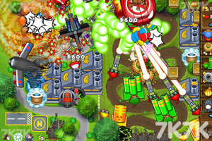 《小猴子守城5万圣节无敌版》游戏画面6