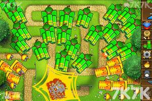 《小猴子守城5万圣节无敌版》游戏画面3
