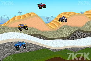 《3D山地爬坡赛》游戏画面1