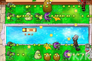 《植物虐僵尸》游戏画面1